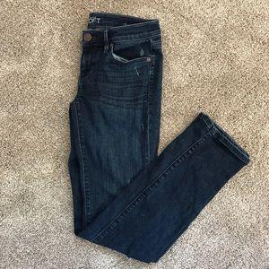 Women's loft bootcut jeans. Size 25